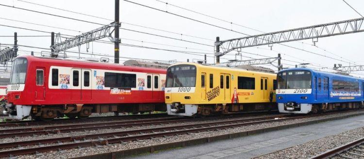 《航海王》与京急铁道联动 推出合作外装列车