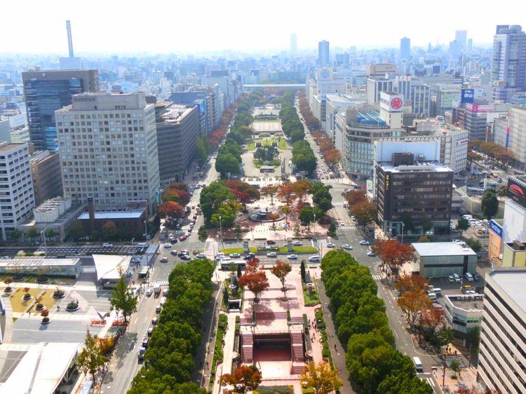 土地再开发使名古屋市部分地区的路线价急剧上涨