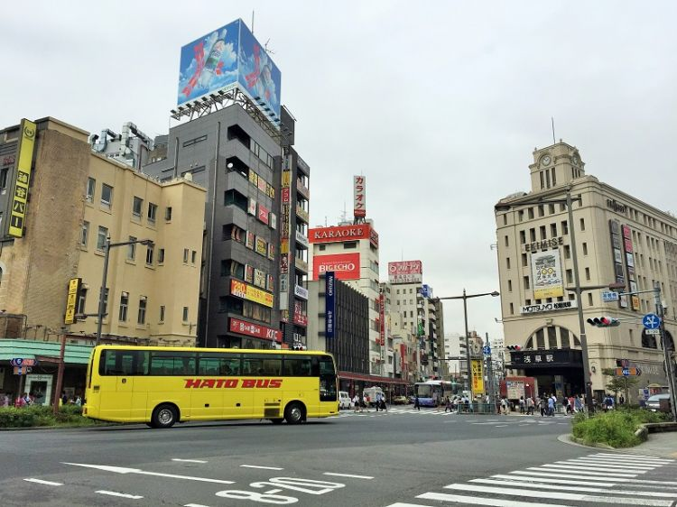 双层巴士客流量显示,东京观光的外国游客有减少倾向