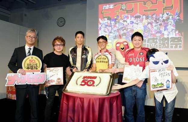 《周刊少年Champion》创刊50周年感恩庆典    圣斗士星矢等身立像展出