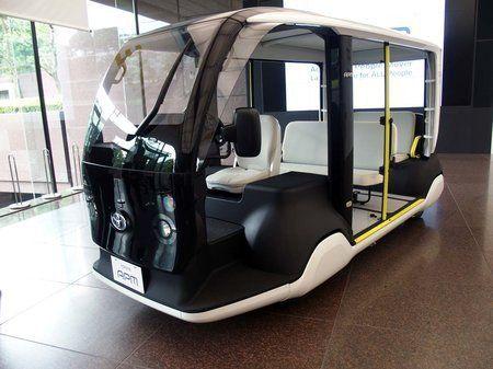 丰田公开东京奥运专用运送电动车 最多可承载6人