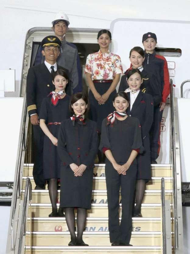 日航公开2020年的春季制服