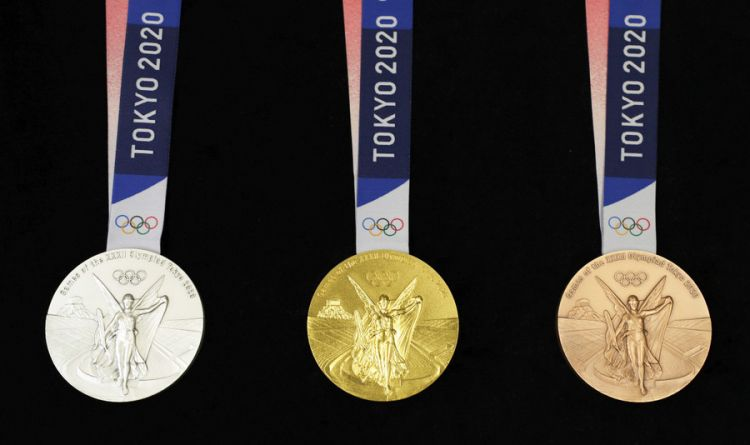 2020东京奥运会奖牌公开!史上最重的奖牌材料竟是100%回收金属