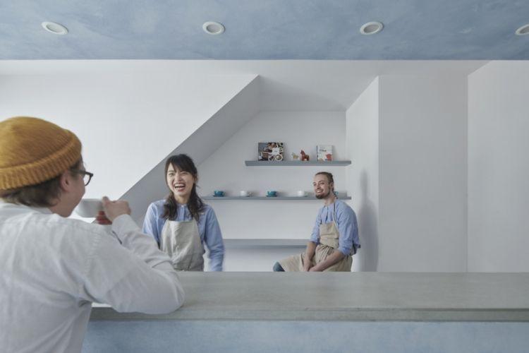 """日本设计:改变西点店""""Fikafabriken""""命运的关键——神秘的45°外墙"""
