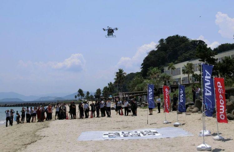 ANA、LINE欲提供大型无人机运送人与货物的服务