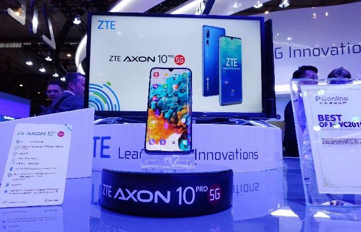 中兴5G智能手机首售,领跑中国5G手机市场