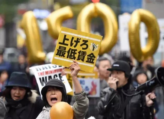 新鲜出炉的日本最低时薪调整案,请接收