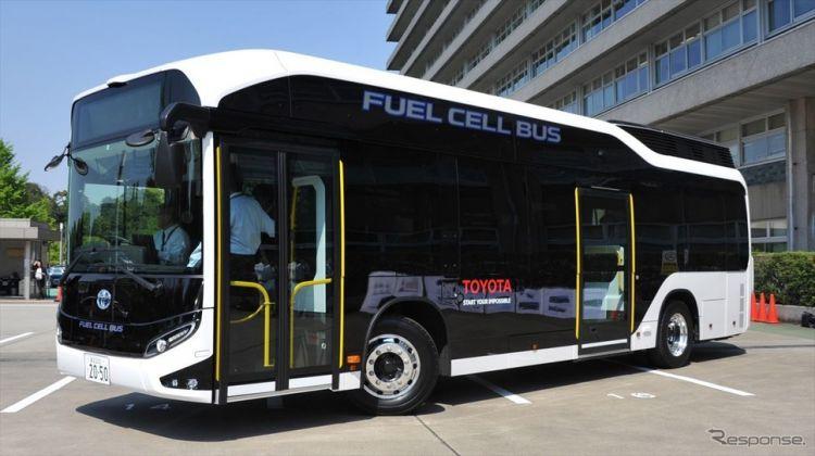 丰田汽车将在爱知县推广燃料电池巴士