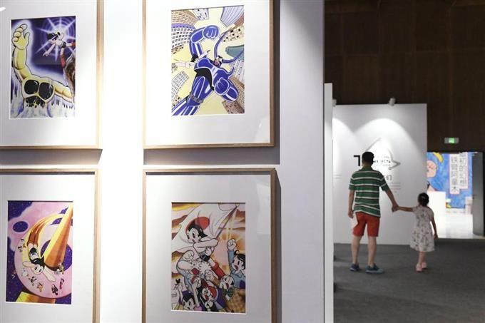 纪念铁壁阿童木公映40周年,北京举行手冢治虫特展