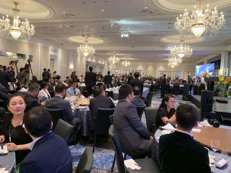 国航纪念中日通航45周年在东京新大谷酒店举办庆典活动