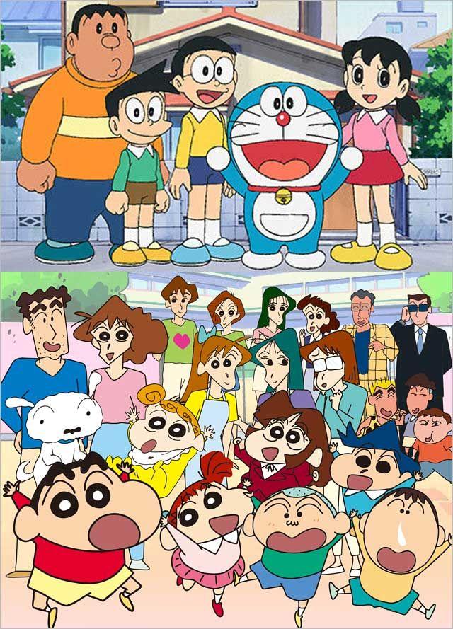 """《哆啦A梦》和《蜡笔小新》时隔多年齐""""搬家"""",播放时间将调整至每周六下午"""