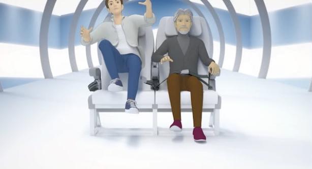 为降低航空事故发生率,日本航空将更新机内安全宣传视频