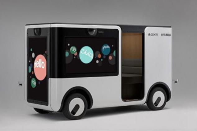 """索尼和雅马哈共同开发配备图像传感器的新车型""""New Concept Cart SC-1"""""""