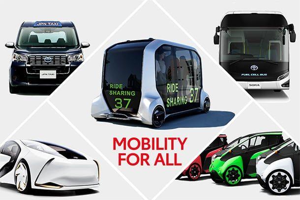 丰田奥运专用车90%为电动车 减少二氧化碳排放量