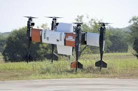 日本大和公司正式曝光了无人运输机的飞行试验!