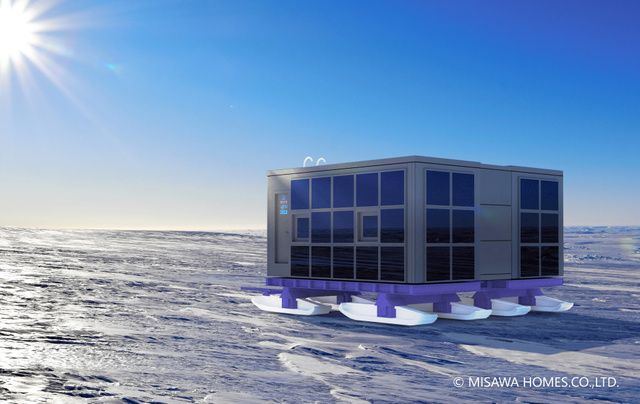 "JAXA与日本国立极地研究所在南极展开""居住实验"""