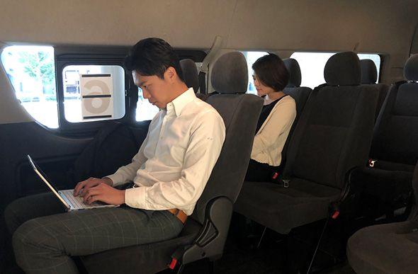"""日本住友商事开展""""按需定制巴士""""试验"""