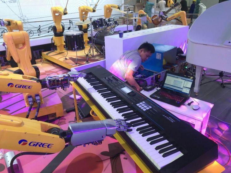 中国的机器人市场规模不断扩大,2019年将达到87亿美元