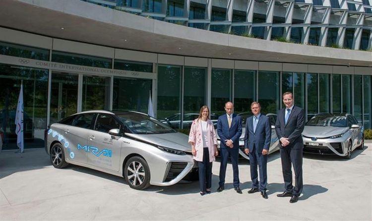 氢燃料电池车将成为2020年东京奥运会及残奥会的主角,丰田借机大秀重磅武器