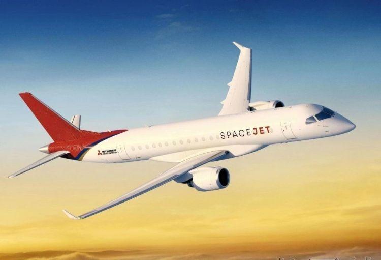 美航空公司将向日本三菱飞机预定100架喷气式客机