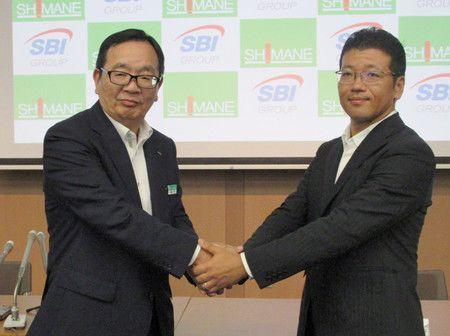 岛根银行与SBI集团进行资本业务合作