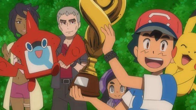 《精灵宝可梦》播出22年,小智终于夺得联盟冠军