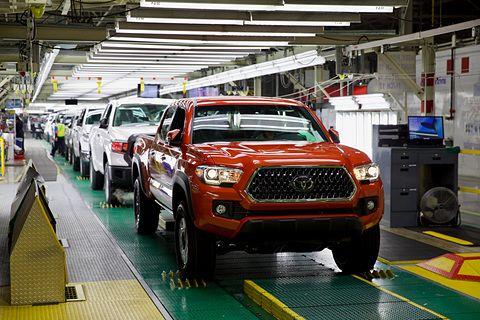 丰田投资在美得克萨斯州工厂3.91亿美元