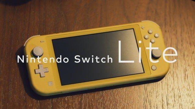 """任天堂便携式新机""""Nintendo Switch Lite""""正式发售"""