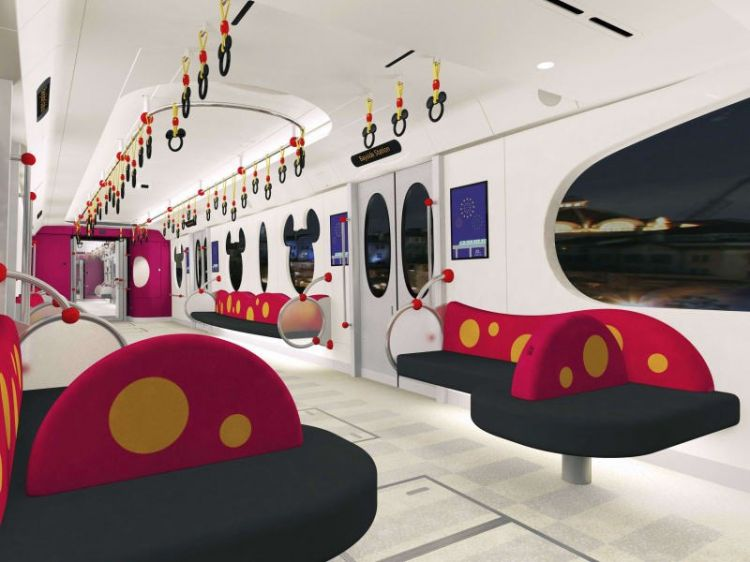 东京迪士尼新型车亮相,预计2020年春季全线开通