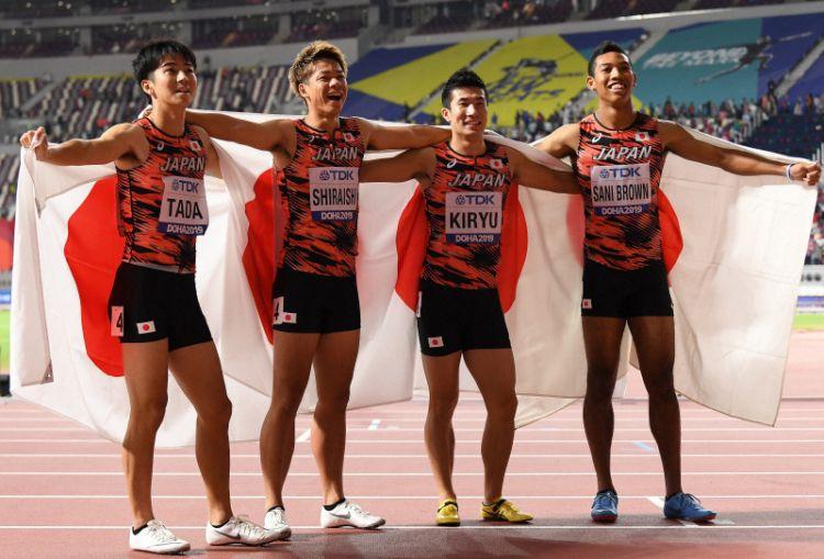 2019世界田径锦标赛日本打破亚洲纪录,夺得铜牌