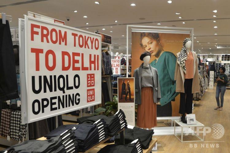 优衣库进军印度市场,印度首家店开业
