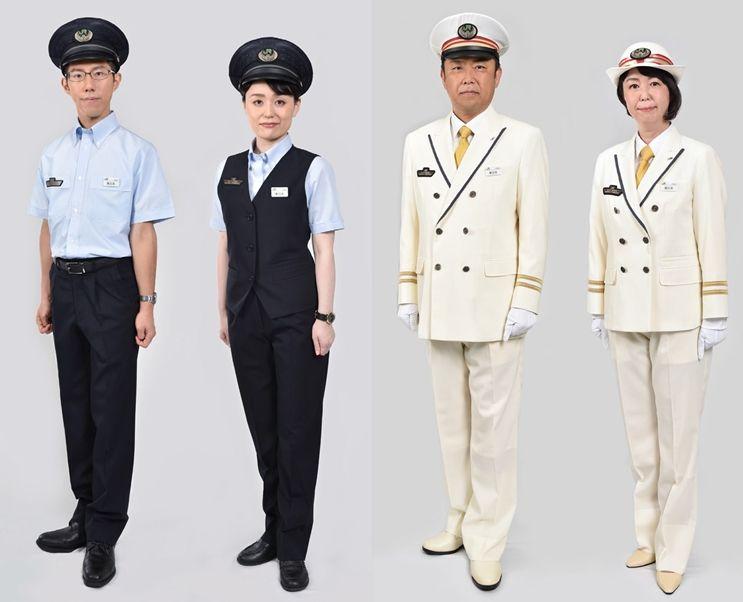 自2020年5月1日起,JR东日本将全面更换员工制服