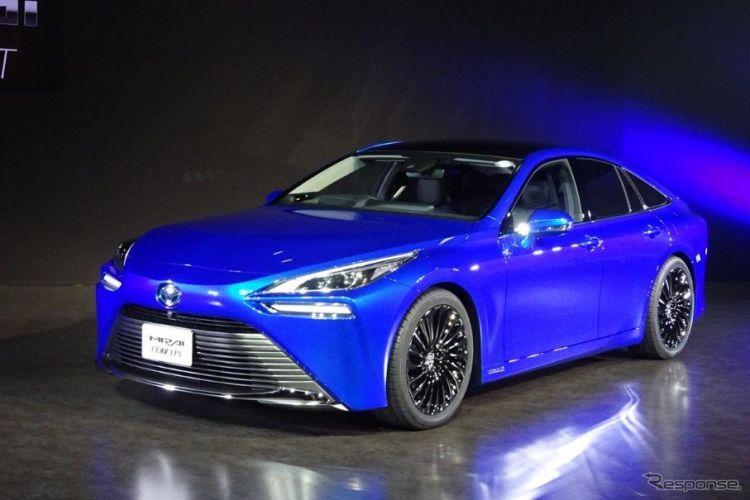 TOYOTA第二代氢燃料电动车(FCV)将在11月东京车展首公开