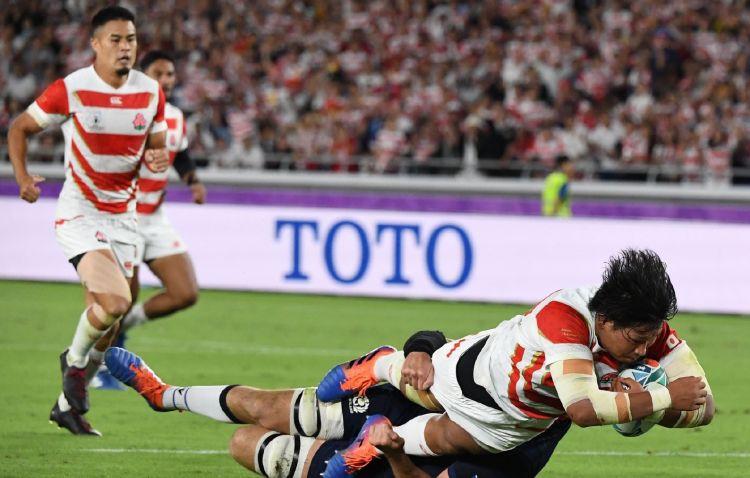 日本挺进世界8强,创造亚洲橄榄球历史!