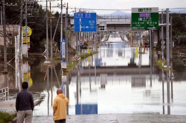 19号台风造成福岛县各工厂设备故障,通信线路也被切断