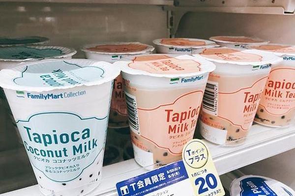 日本便利店纷纷推出新品珍珠奶茶,奶茶为何能在便利店成功走红?