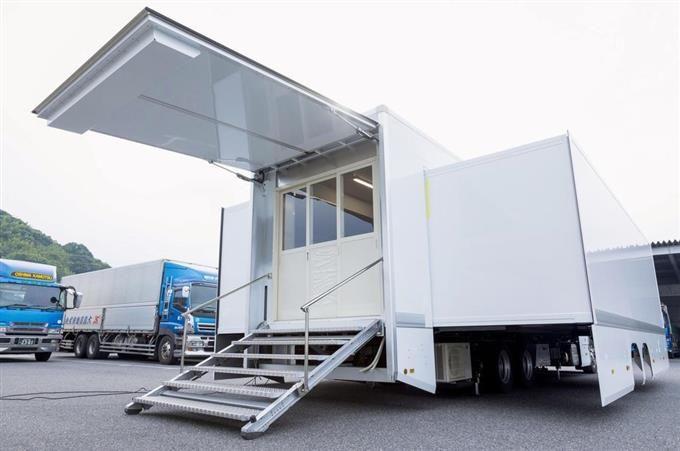 改装卡车,有望成为应对东京奥运会酷暑的利器