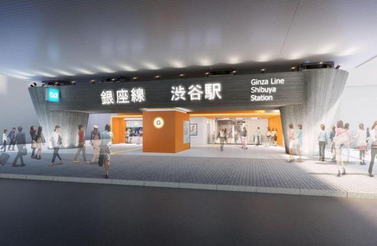 银座线涩谷站开通时间已公布,部分区间将进入全天停运