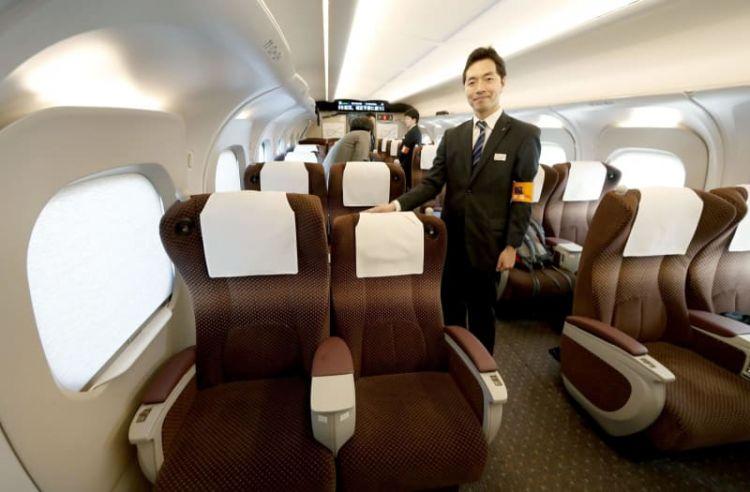 """JR东海道新型列车""""N700S""""内部情况公开"""