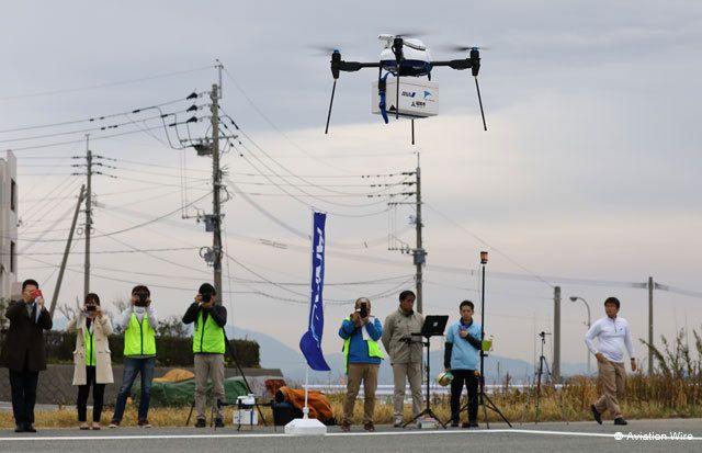 日本新兴公共援助手段无人机,拯救人口稀少区域的购物困难群众