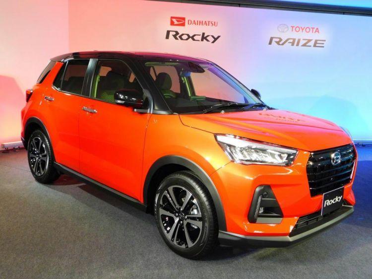 丰田和大发推出全新小型SUV,分别命名RAIZE和Rock