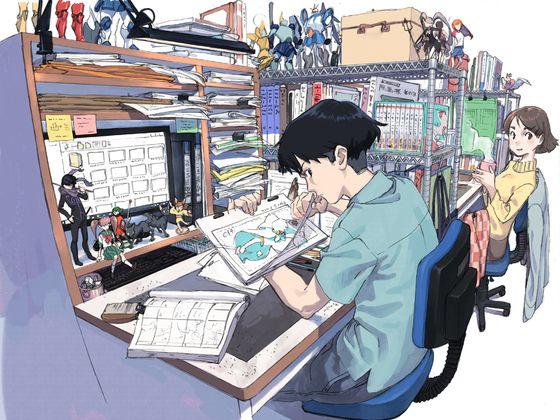 日本动漫产业人员不堪底薪纷纷前往中国