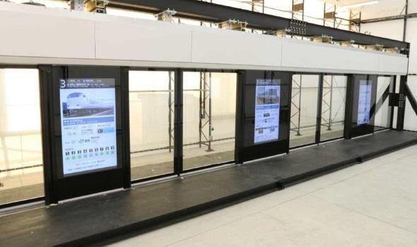 JR西日本首创可用于所有车型的新型地铁屏蔽门