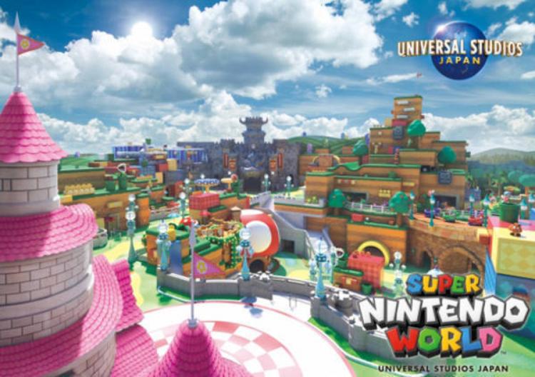 日本环球影城(USJ)发布任天堂区域新概念图