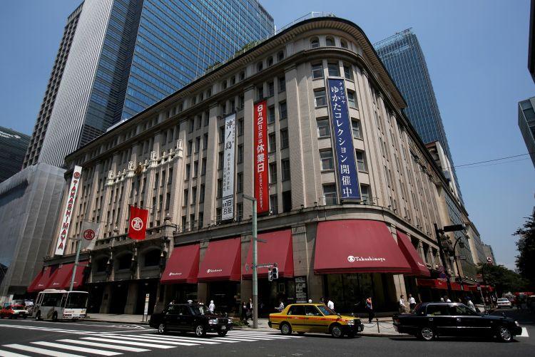 日本百货商店10月营业额减少17%