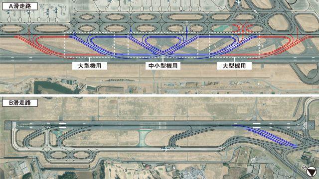 成田机场新滑行道即将完工,起降次数或增加
