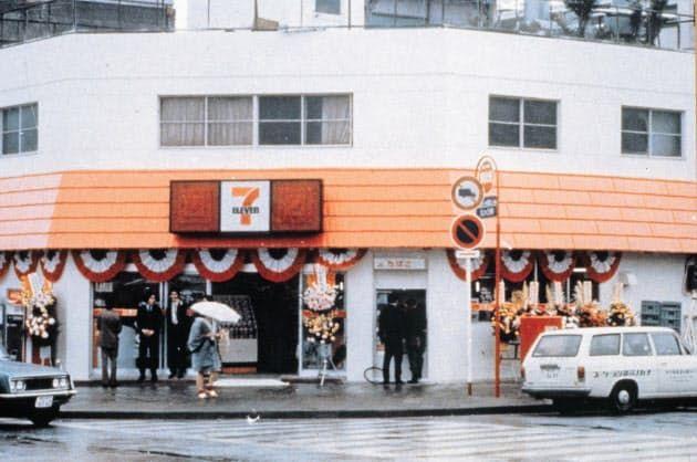 日本7-11连锁便利店,在全球的门店数量突破7万