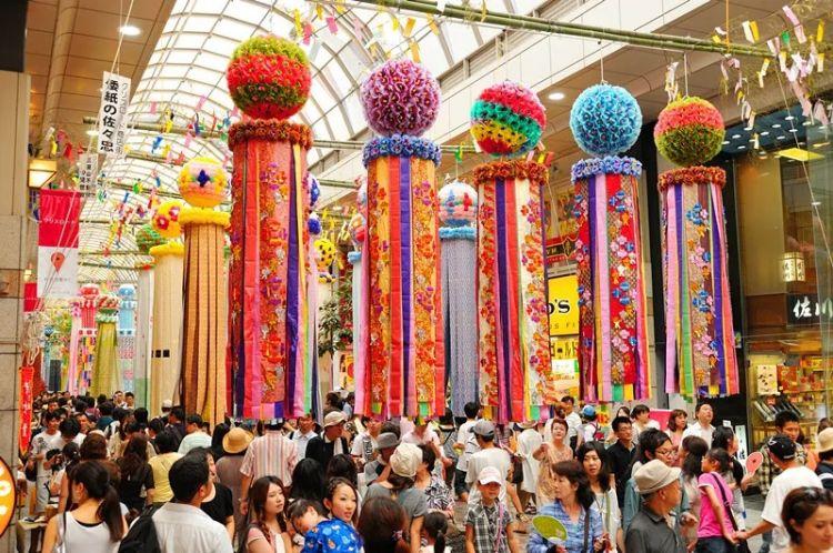 中日节气风物志︱日本七夕节,织女姐姐在忙啥?